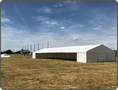Agricultural Marquee Hire