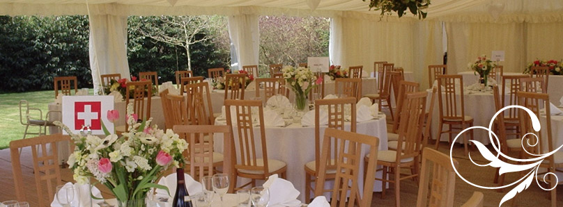 wedding marquee berkshire