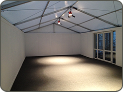 Corporate event marquee hire